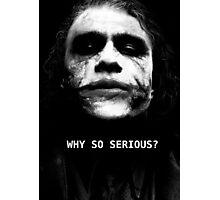 The Joker. Photographic Print