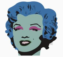 Blue Marilyn Monroe by tiffani revels