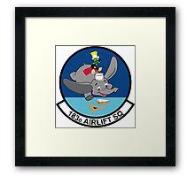183rd Airlift Squadron Framed Print
