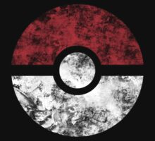 Distressed Pokeball by MopOfVirtue