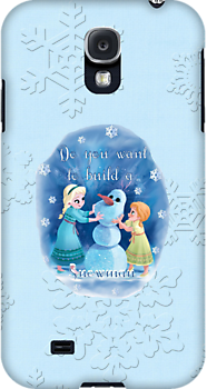Disney Frozen Elsa and Anna ~ Do you want to build a snowman by sweetsisters