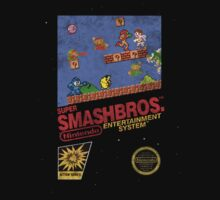 "Distressed Super Smash Bros. ""Retrofied"" by MopOfVirtue"