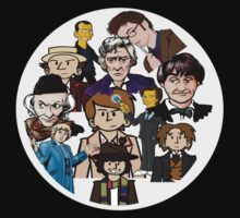 Doctor Who Timeline by MBclothing