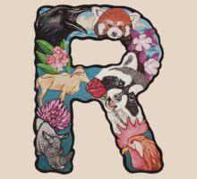 The Letter R by alphabetbyjason