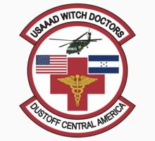 Air Ambulance Detachment USAAAD Witch Doctors by VeteranGraphics