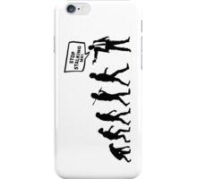 Evolution Stalker iPhone Case/Skin
