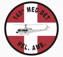 145th Medical Detachment - Helicopter Ambulance by VeteranGraphics