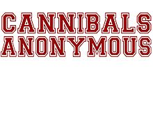 Cannibals Anonymous by woodian