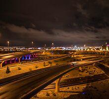 Albuquerque Highway by IOBurque
