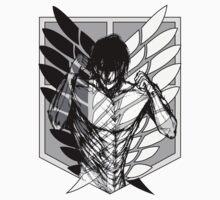 Shingeki no Kyojin - Eren Titan by OutbreakShirts
