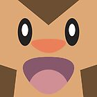 Chespin Face by Cameron Bash
