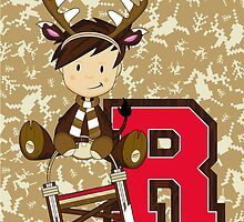 R is for Reindeer by MurphyCreative