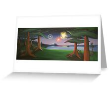 View From The Park Greeting Card