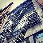 New York Fire Escape by Gillian Blair