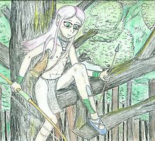 Elven Hunter by Virtualfruits