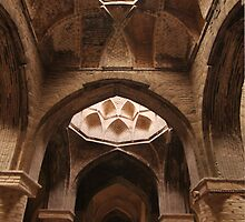 Brick Vaults, Friday Mosque, Isfahan by Jane McDougall