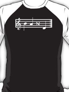 BAND Treble Staff T-Shirt