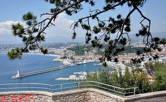 Look Out on Cote d'Azur by Karen E Camilleri