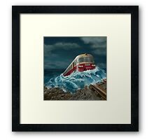Trans European Express Framed Print