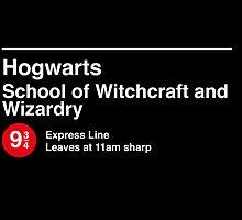 Express to Hogwarts by oneskillwonder