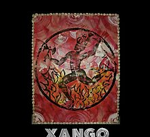 Xango, Orixa of fire and dance by Ginga & Helen Dos Santos