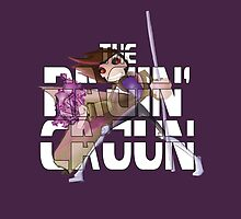 The Ragin' Cajun (Gambit, Purple, iPad Case) by BasiliskOnline
