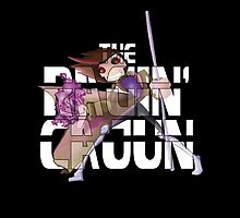 The Ragin' Cajun (Gambit, Black, iPad Case) by BasiliskOnline