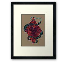 Mystic Crystal Framed Print