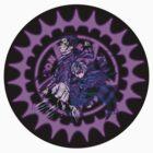 Ciel & Sebastian Demon Contract Symbol -Black by Xhex115