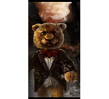 Snazzy Teddy  Photographic Print