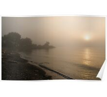 Thin Fog and Sunshine Poster