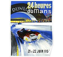 24 Hours of LeMans - 1958 Poster Art Poster