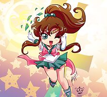 Chibi Super Sailor Jupiter by MakoFufu