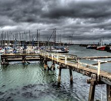 Port Of Blyth by Andrew Pounder