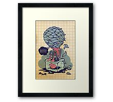 COLD FURRY Framed Print