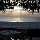 Happy New Year - 2014 by Brenda Dow