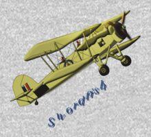 British WWII Swordfish Biplane T-shirt by Dennis Melling