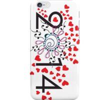 2014 love is everywhere iPhone Case/Skin