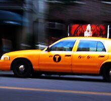 NYC Taxi by Matthias Keysermann