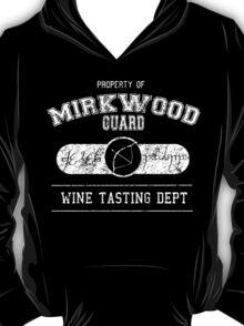 Mirkwood Guard Wine tasting department T-Shirt
