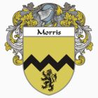 Morris Coat of Arms/Family Crest by William Martin
