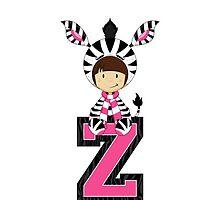 Z is for Zebra by MurphyCreative