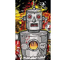 The Tin Man of the Apocalypse! Photographic Print