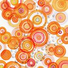orange bubbling by Regina Valluzzi