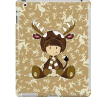 Cute Reindeer Kid iPad Case/Skin
