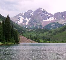 Maroon Bells by David Posaas