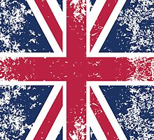 Flag of UK by quark