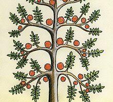 l'arbre aux oiseaux by Julie  Savard