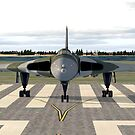 Avro Vulcan (Ready for take off) by Walter Colvin