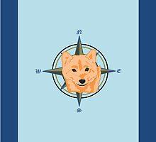 Shiba Inu - Doge Compass by fitch